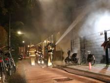 Scooter brandt uit; politie vermoedt brandstichting
