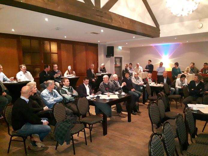 Tientallen ondernemers kwamen in januari in Berlicum bij elkaar.