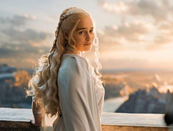 Daenerys Targaryen in 'Game of Thrones'.