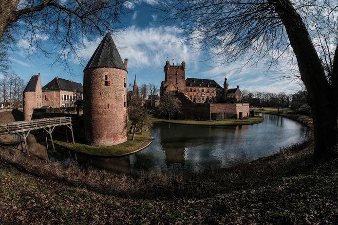 Kasteel Huis Bergh in 's-Heerenberg, een van de toeristische trekpleisters in Montferland.