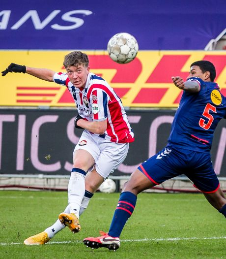 Willem II'er Ole Romeny: 'Ik moet nu mijn kansen wel gaan benutten'