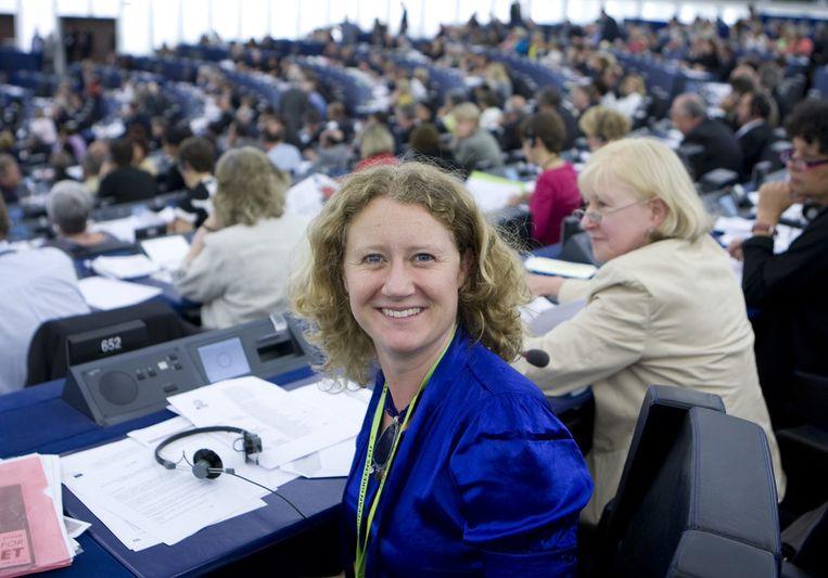 Judith Sargentini (GroenLinks) stopt volgend jaar als Europarlementariër. Beeld ANP