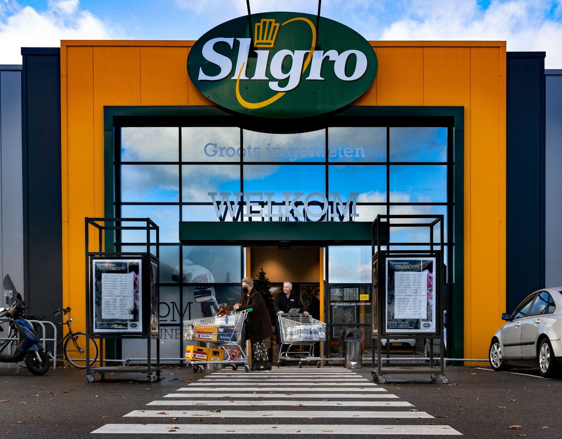 Een Sligro-filiaal.