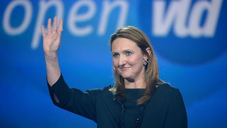 Open Vld-voorzitter Gwendolyn Rutten. Beeld Photo News