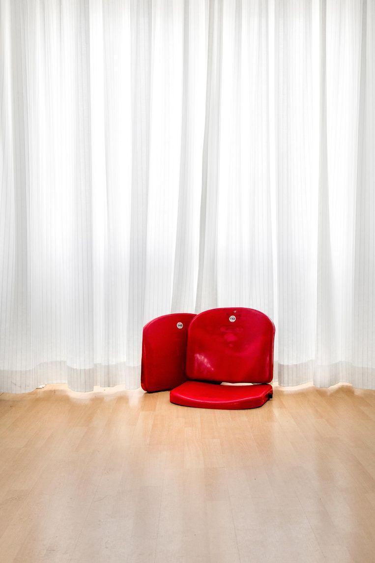 Erik de Waal: 'Dat het onze stoeltjes zijn, van Daan en van mij, geeft wel troost' Beeld Lynne Brouwer