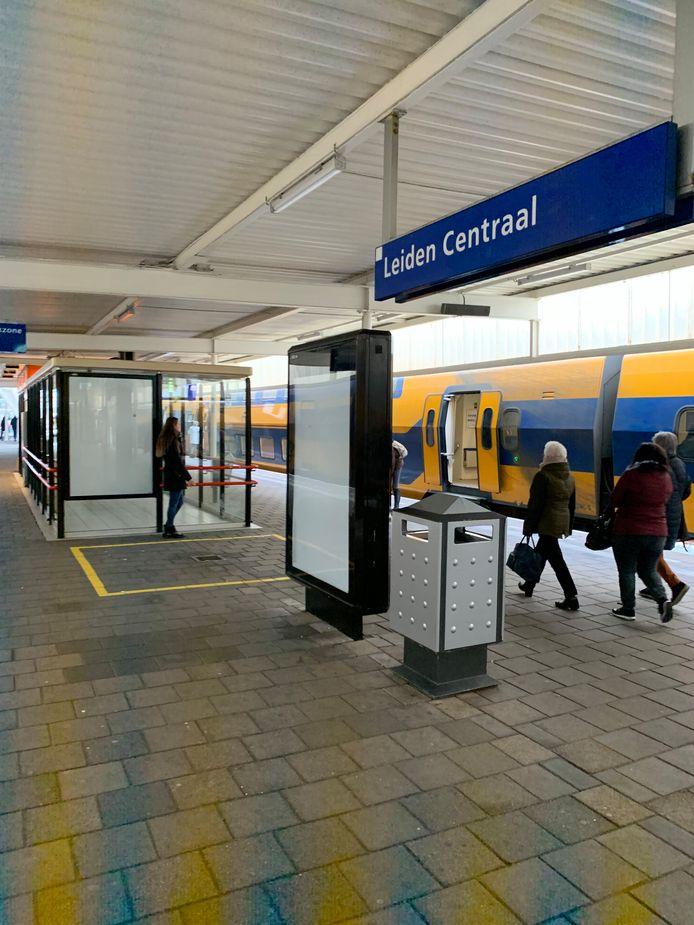Bij 300 NS stations zijn de abri's leeg.