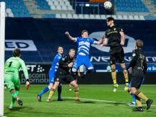 LIVE   Van Bergen schiet Heerenveen op voorsprong tegen PEC Zwolle
