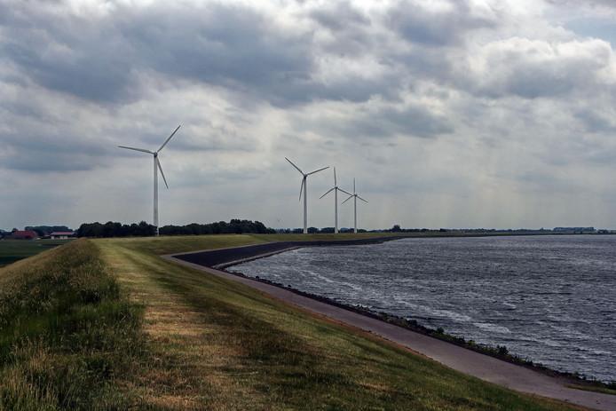 De windmolens die opgeschaald moeten worden.
