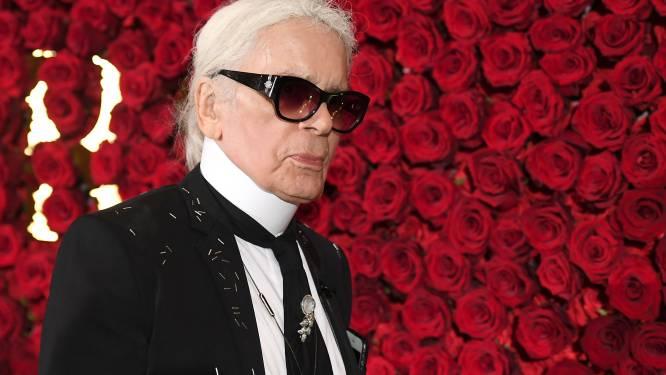 Spullen overleden Karl Lagerfeld later dit jaar geveild