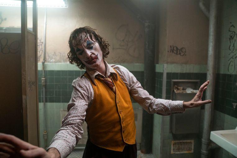 Joaquin Phoenix is de jongste acteur die gestalte geeft aan The Joker. Beeld AP