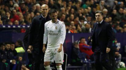 Gemist jaar voor Hazard: de enkel even de tere plek, maar geen zorgen voor lange termijn