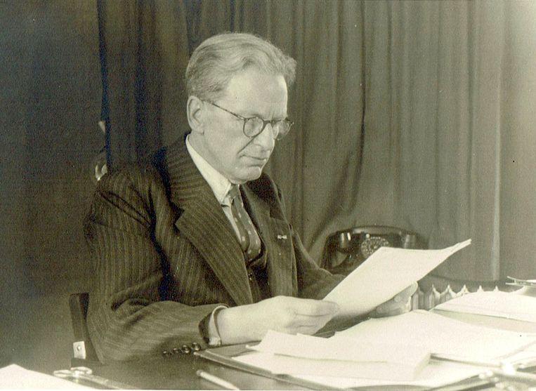 Ingenieur Carel Koning was van 1940 tot 1952 directeur van het NLL. Beeld