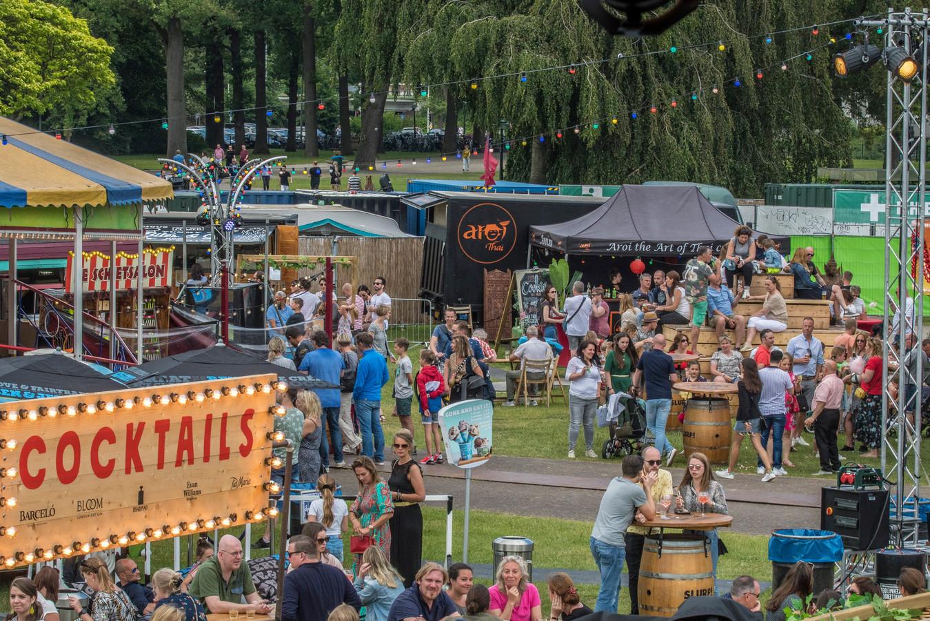 Foodfestival TREK kwam vorig jaar nog wel langs Enschede.