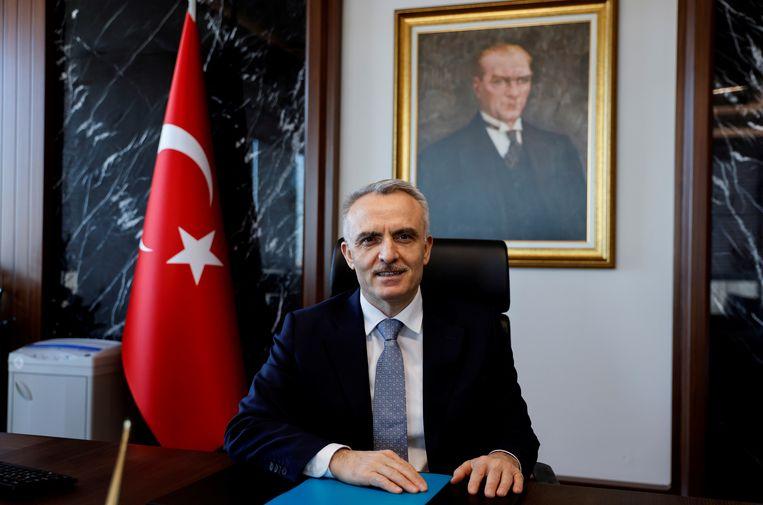 Naci Agbal, voormalig directeur van de centrale bank in Turkije. Beeld REUTERS