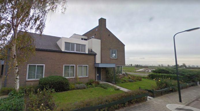 De voormalige dokterswoning aan de Schoolstraat in Poortvliet.