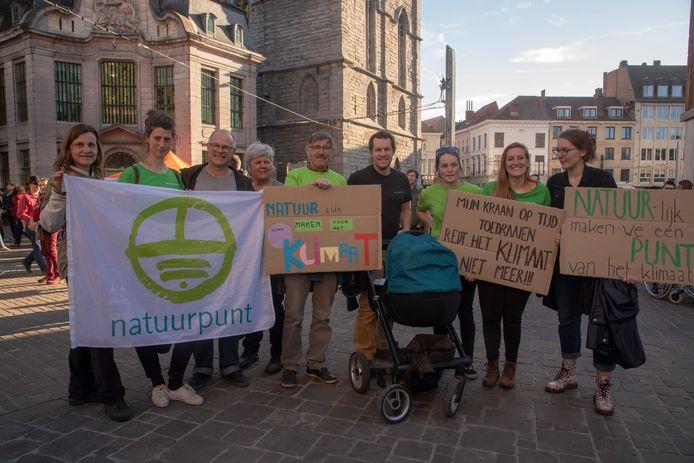 Natuurpunt Gent op klimaatmars.