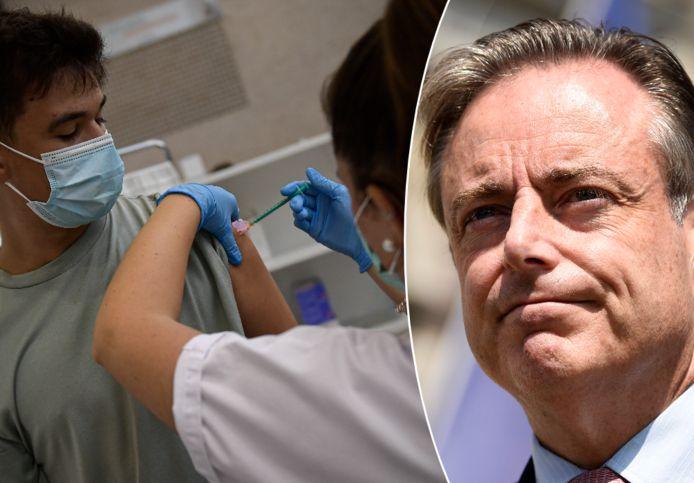 Bart De Wever over vaccinatie