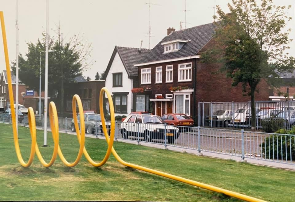 Het kunstwerk van Ruurd Hallema dat decennia bij de TET aan de Kottendijk stond. Waar is het gebleven, vraagt Hallema zich af.