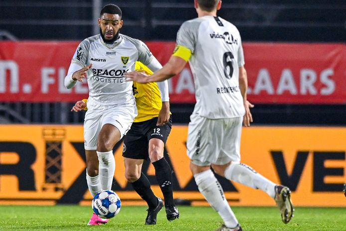Jafar Arias maakte in de vorige ronde tegen Almere City twee doelpunten (1-4 zege).