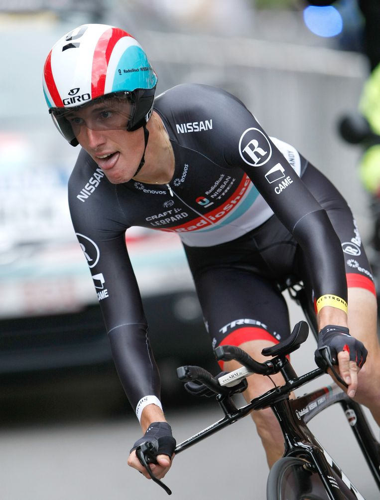 Andy Schleck. Beeld ap