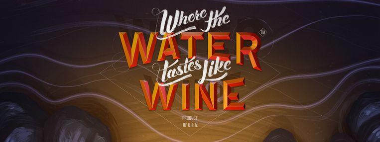 'Where the Water Tastes Like Wine' ziet er tegelijkertijd goedkoop én authentiek uit. Beeld Dim Bulb Games