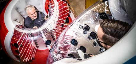 Coronaproof en 'op een ludieke manier' voetballen met speciale bumperballen