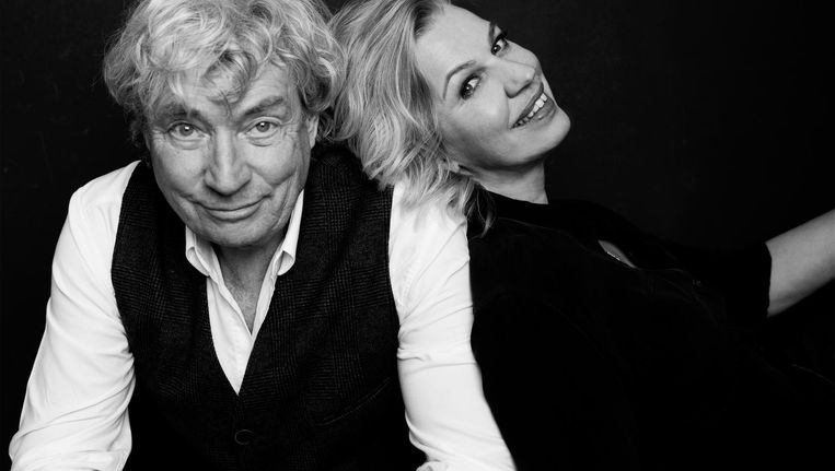 Jo Simons en Annejet Van der Zijl Beeld Mark Uyl