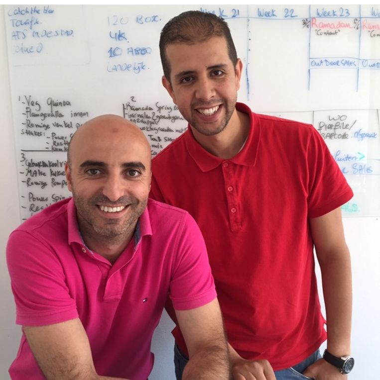 Redouan Boussaid (l) en Brahim Rgui. Beeld