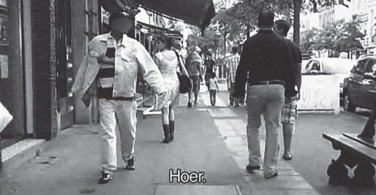 Een beeld uit de documentaire 'Femme de la rue', waarin maakster Sofie Peeters seksisme aankaart. Beeld rv