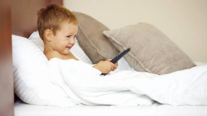 Tablets en smartphones beroven kinderen van slaap