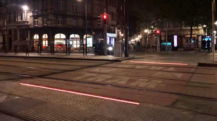 HIG Groep uit Bodegraven heeft nu ook een eerste led lichtlijn aan laten leggen in Brussel.
