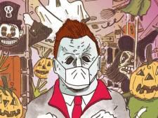 L'activité d'Halloween effrayante à Bruxelles: prenez le tram avec des zombies