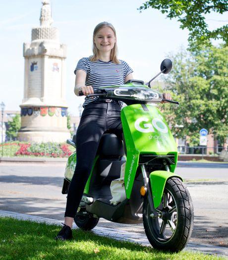 Een jaar leenscooters in Breda: 'Vroem, vroem... En je bent weg. Heel comfortabel'