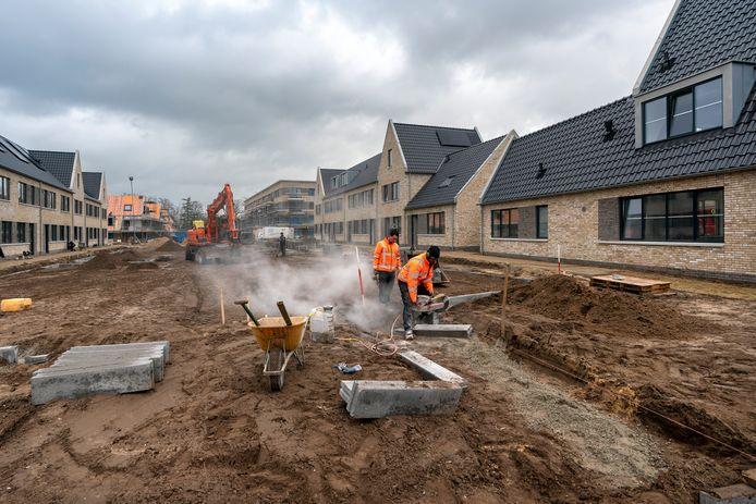 De eerste woningen van de nieuwe Grote Zeeheldenbuurt in Vught worden waarschijnlijk al in april opgeleverd.