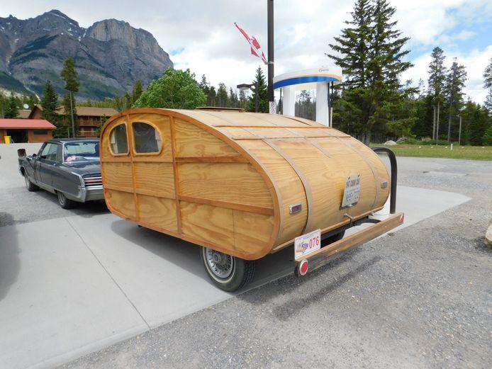 In de Canadese staat Alberta, langs de Icefields Parkway.