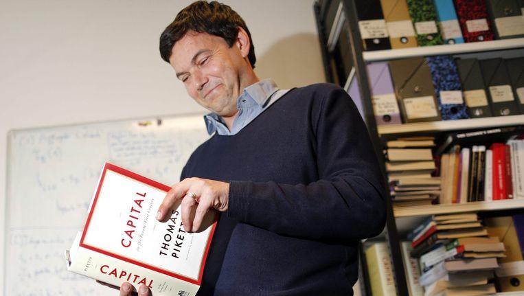 De Franse econoom Thomas Piketty. Beeld reuters