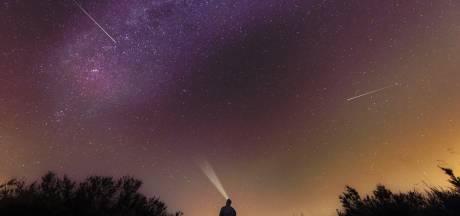 Meteorenzwerm: vanavond weer vallende sterren te zien
