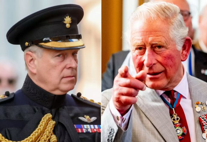 Prins Andrew en prins Charles