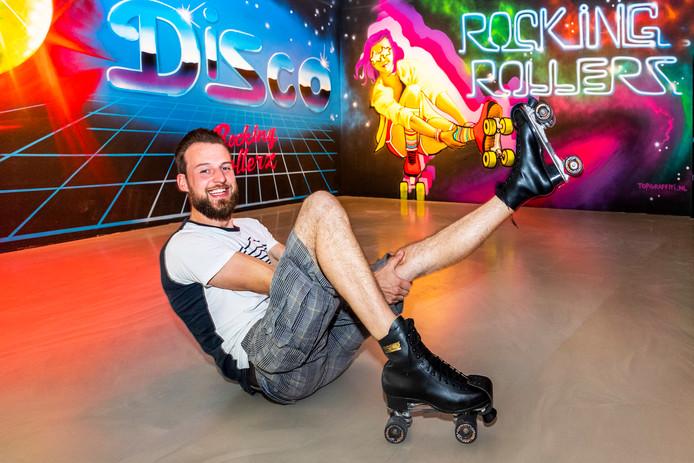 Bedrijfsleider Wouter den Boesterd van Rocking Rollerz