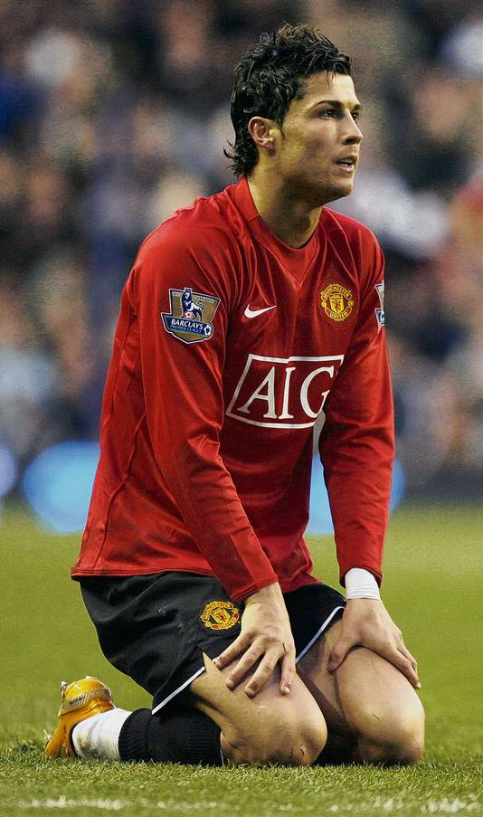Cristiano Ronaldo kende geen goed debuut in de Champions League.
