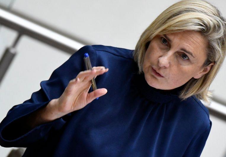 Vlaams minister van Onderwijs Hilde Crevits (CD&V). Beeld Photo News