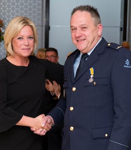 Jo Jaminon uit Uden benoemd tot Lid in de Orde van Oranje-Nassau met de zwaarden