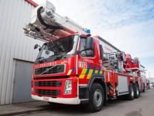 Important incendie dans un immeuble du quartier d'Outremeuse à Liège