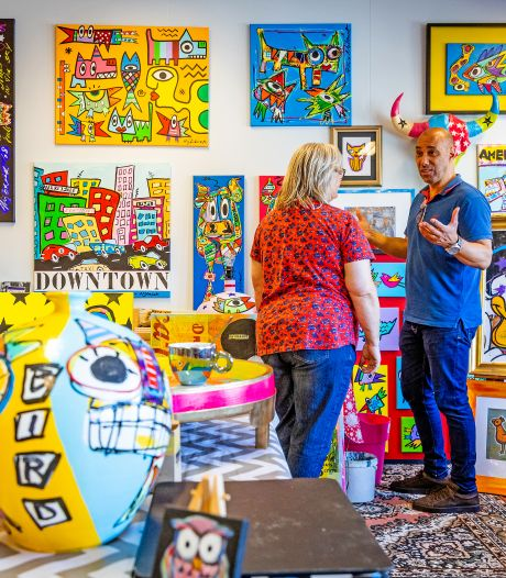 Open Atelierdagen bewijzen: kunst leeft in voormalig schoolgebouw Actief College. Maar voor hoe lang?