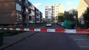 De Floriszstraat is afgezet vanwege het schietincident.