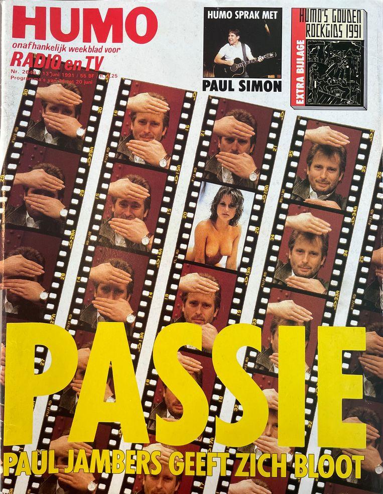 Humo cover juni 1991 Beeld Humo
