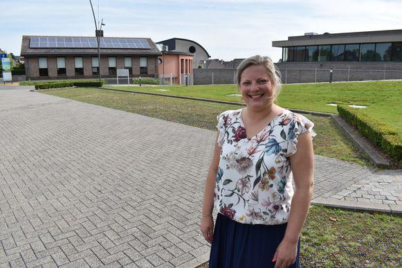 Melissa Dooms wil dat er een geldautomaat komt aan het gemeentehuis in Lierde.