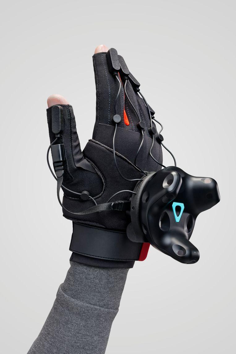 VR-handschoenen van Manus VR.  Beeld Manus VR
