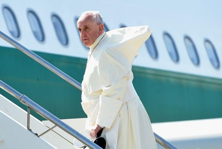 Paus Franciscus Beeld belga
