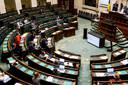 Een stemming werd uiteindelijk vermeden omdat CD&V en N-VA nieuwe amendementen indienden en nog maar eens advies vroegen aan de Raad Van State.